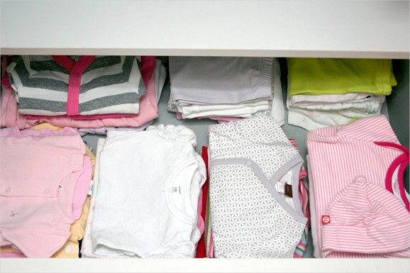 getting stains out of stored baby clothes