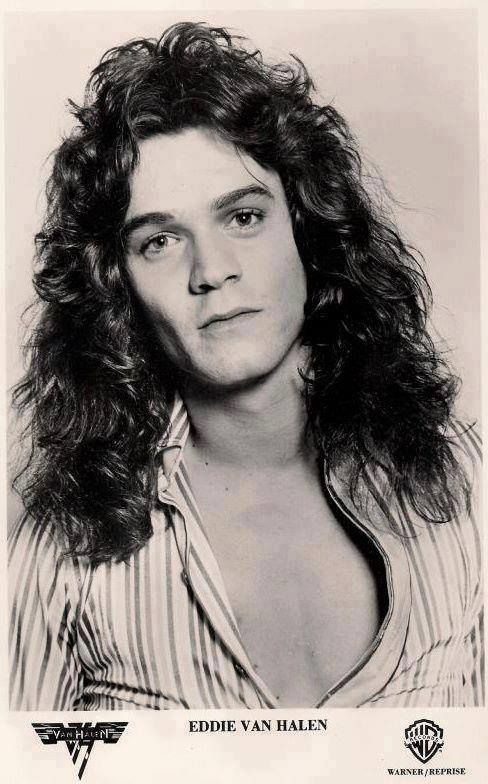 Young Edward VAN HALEN Pinterest