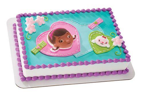 Doc Mcstuffins Cake Decorating Kit : Doc McStuffins Edible Cake Decorations mercedes 3rd ...