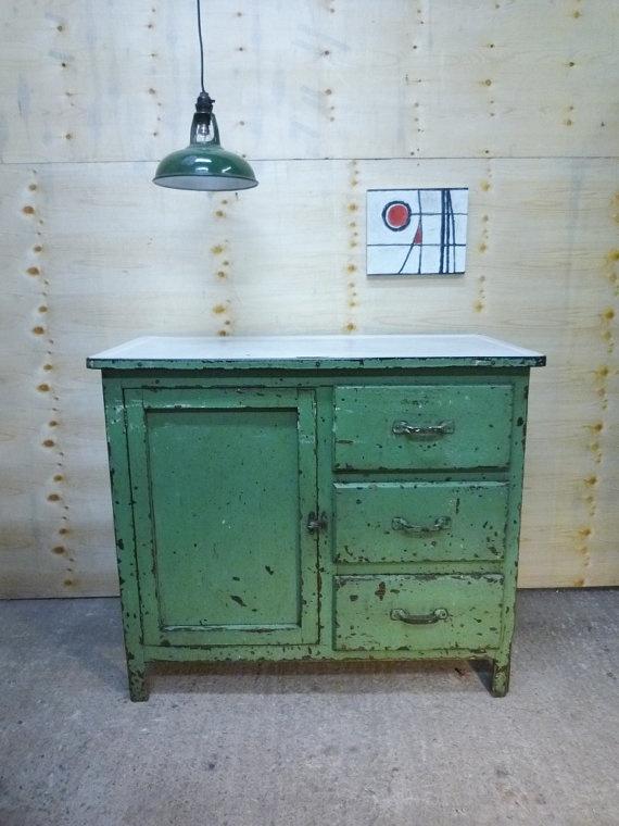 Vintage Industrial Kitchen Island : Vintage Primitive Industrial Kitchen Island - superb decadent antique ...