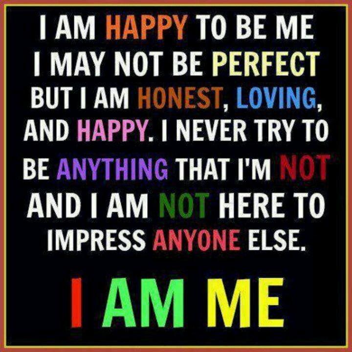 I Am Me Quotes I am me! | Quotes | Pi...