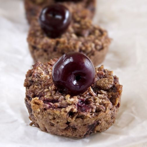 Black Forest Baked Oatmeal... easy and healthy...