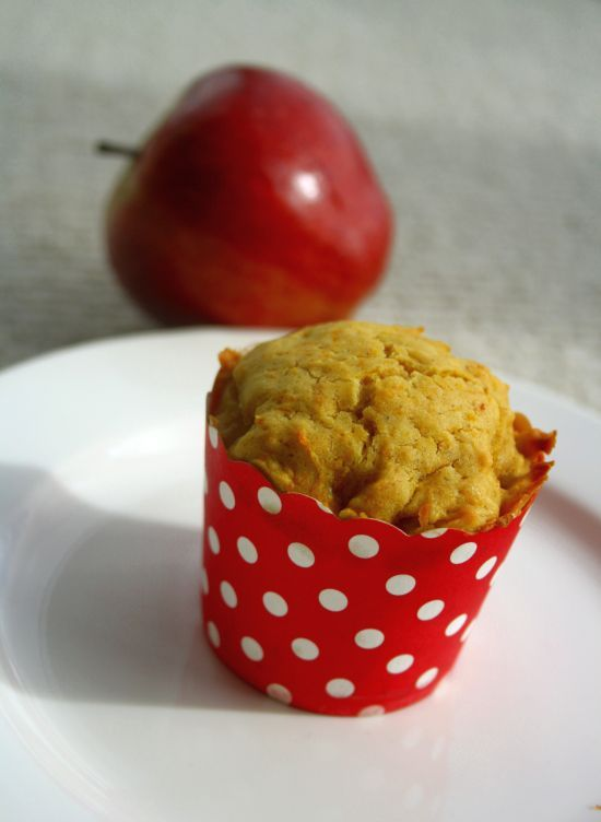 carrot and apple cupcakes | Recipes For Women | Pinterest