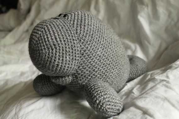 Free Amigurumi Manatee Pattern : Manfred the Manatee - Amigurumi Plush Crochet PATTERN ONLY ...