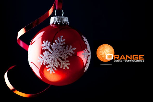 The Gift of Proven Project Management:  With an experienced team of legal and technology consultants dedicated to your specific matters, Orange Legal Technologies has proven expertise in managing eDiscovery projects for some of the world's most well known corporations and law firms. (bit.ly/tpB2pn) (@OrangeLT)