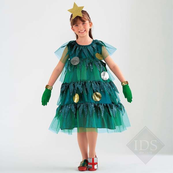 Christmas tree costume costume pinterest How to dress the perfect christmas tree
