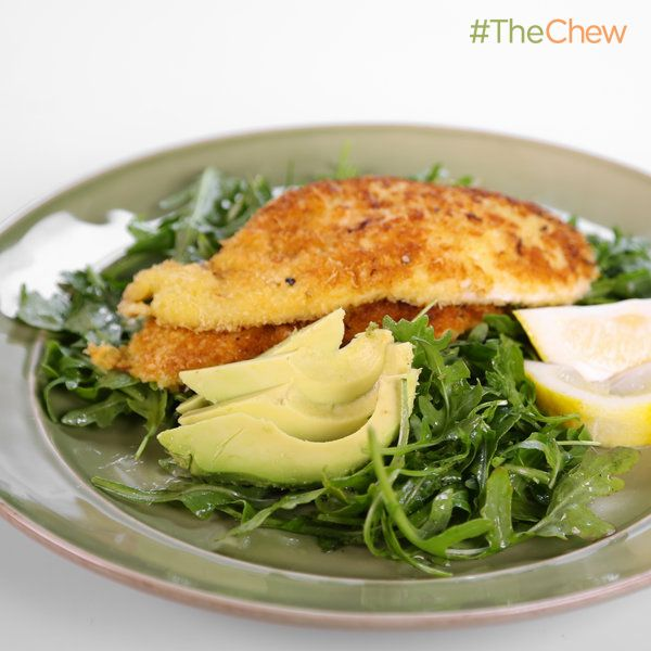Jamie Deen's Parmesan Chicken Cutlets #TheChew