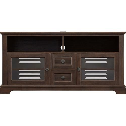 Whalen Furniture Tv Console For Flat Panel Tvs Up To 60