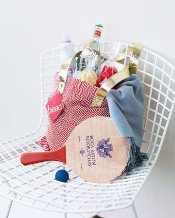 Gift Bag Ideas For A Beach Wedding : The perfect beach gift bag Wedding Favors Pinterest