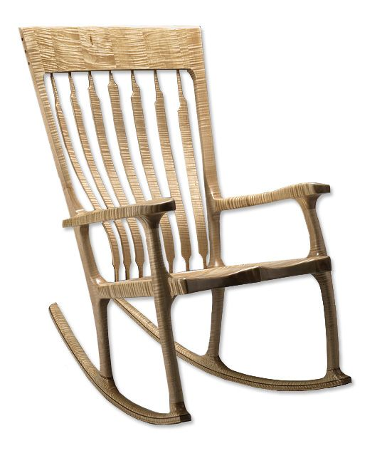 Rocking Chair - Tiger Maple Rocker -- Orvis on Orvis.com! Tiger Maple ...