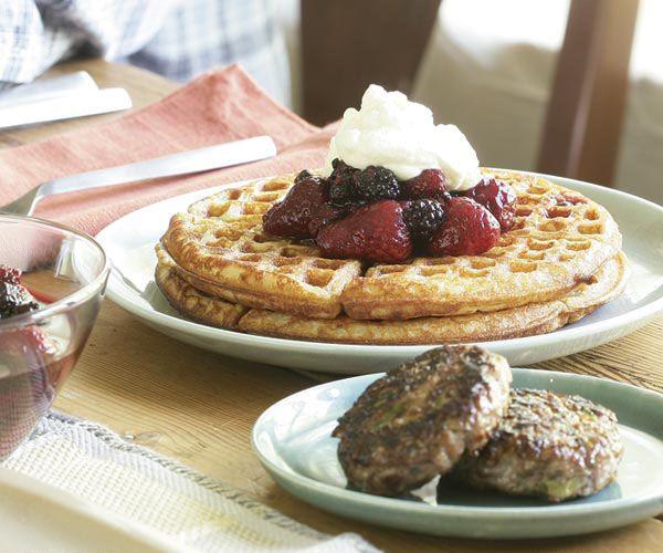 Hazelnut Waffles | Recipe