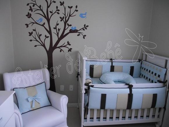 Kit Berço para decorar quarto de bebê50