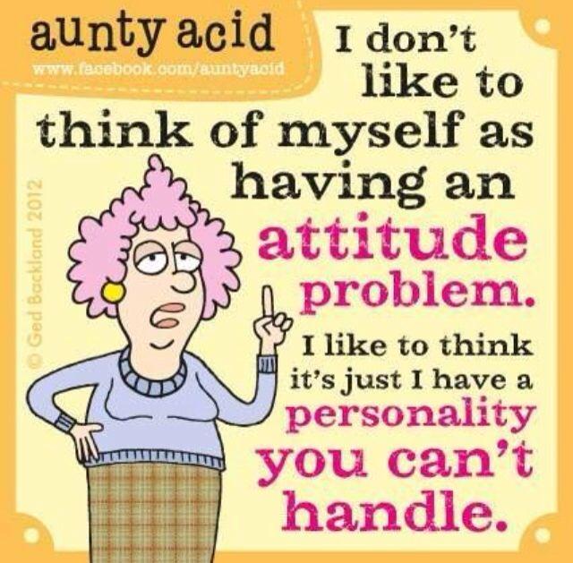 Aunty acid quotes