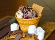 Protein Packed S'mores Ice Cream   Recipes   Pinterest