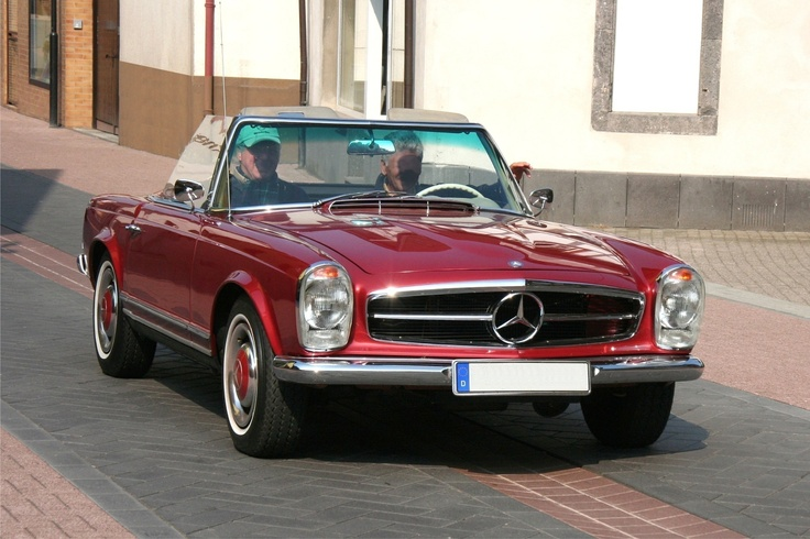 classic mercedes benz convertible mercs pinterest