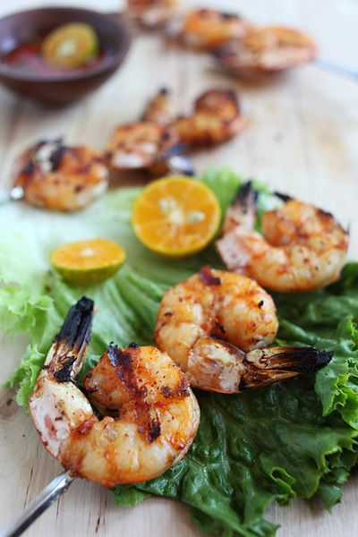 Lemongrass Grilled Shrimp | Fish to Seafood Everything.. | Pinterest