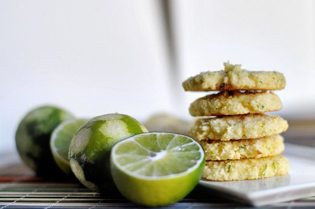 GLUTEN-FREE COCONUT LIME COOKIES | Desserts | Pinterest