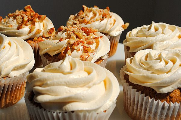 Spiced Caramel Apple Cupcakes   Cupcakes   Pinterest
