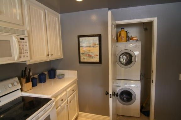 stackable washer dryer combo favorite laundry rooms pinterest