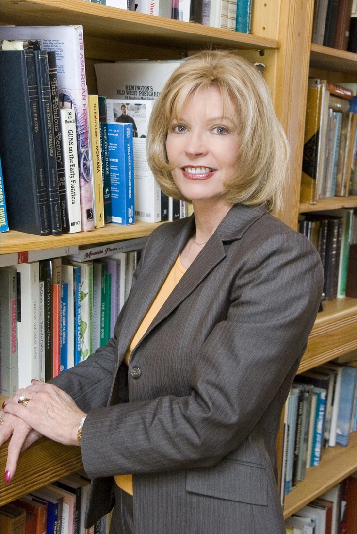 Kat Martin, in her library in Montana!   Books by Kat Martin   Pinter