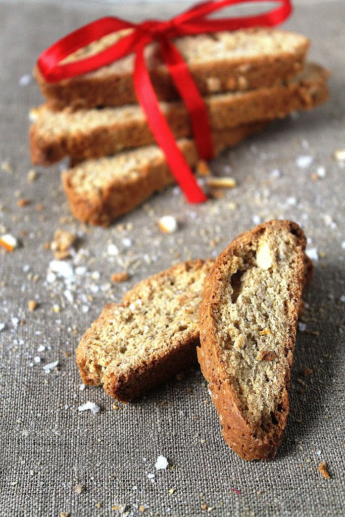 Almond, Olive Oil and Orange Biscotti @mykitchenaffair.blogspot.com