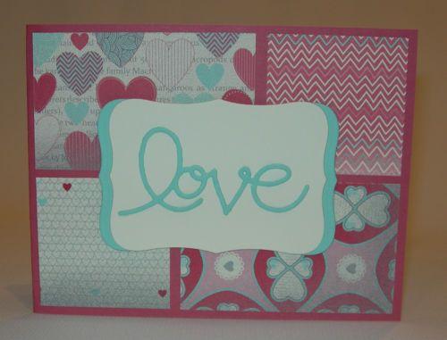 valentine cards stampin up pinterest