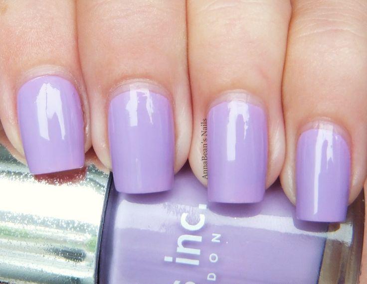 Light purple nails 2014