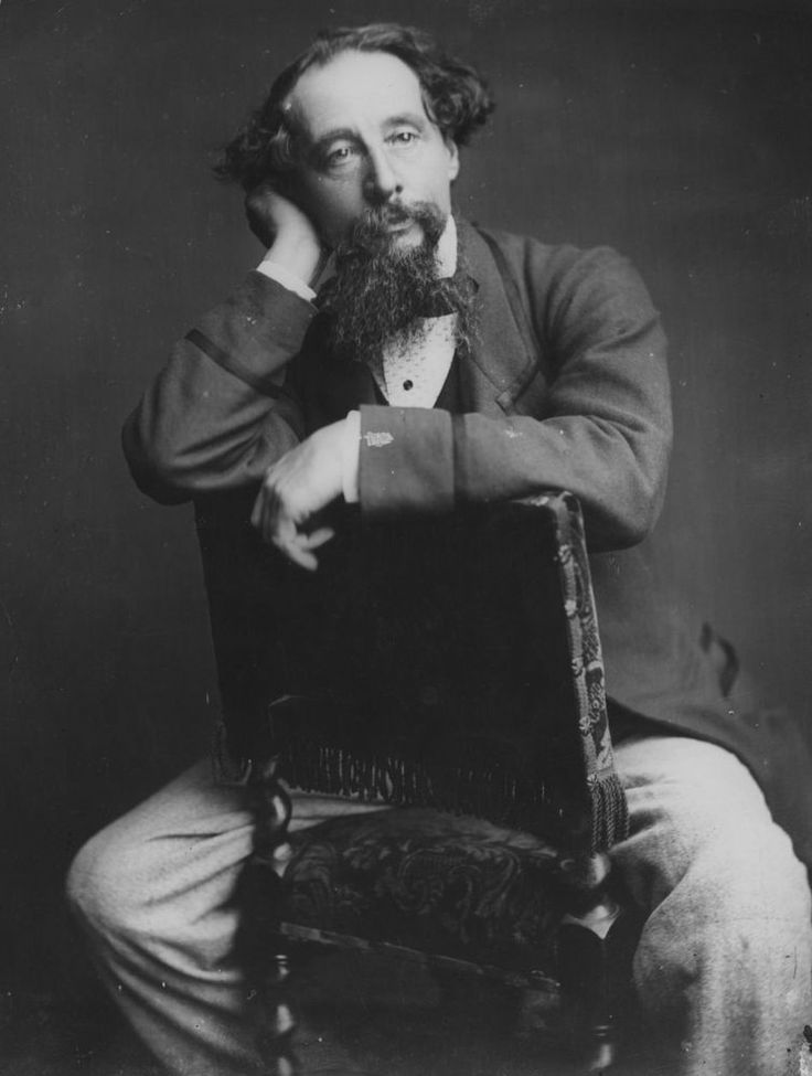"""... Charles Dickens. The English novelist was """"a great antiqua"""