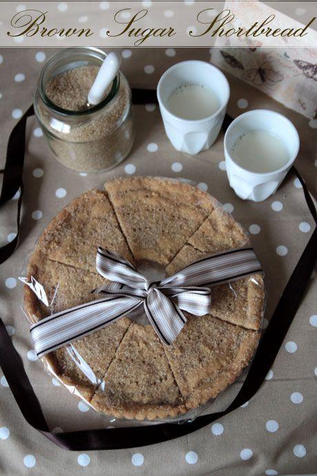 Brown Sugar Shortbread Cookies | Cookies, Bars, Squares,Balls | Pinte ...