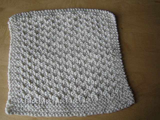 Seed Stitch Washcloth Sewing, Crafts, and DIY Projects ...