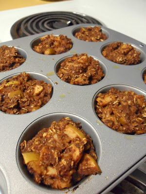 Healthy delicious breakfast muffins