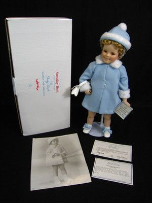 "18"" Sunday Best Shirley Temple Doll by Danbury Mint"