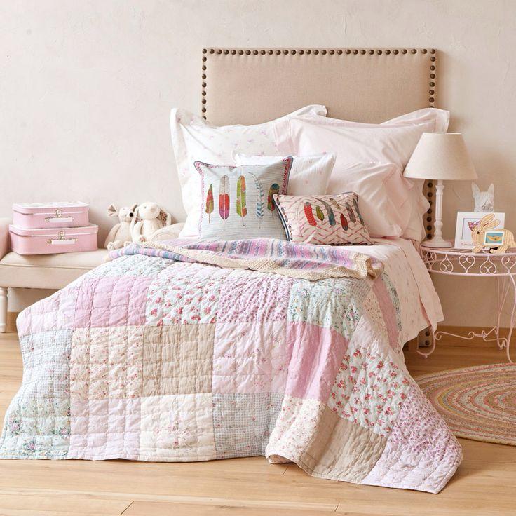 Colcha patchwork zara home decoraci n pinterest for Cubre canape zara home