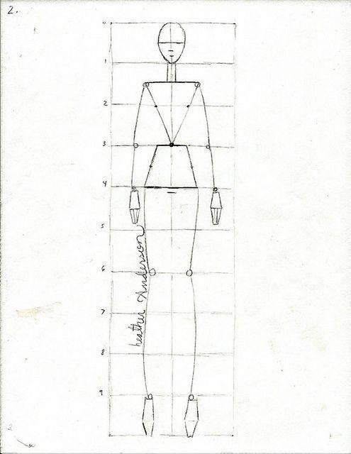 Simple Fashion Sketch Tutorial Art Journalling Pinterest