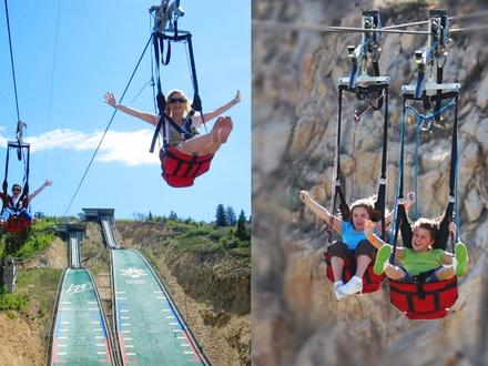 Ziplines at Olympic Park - Park City, Utah