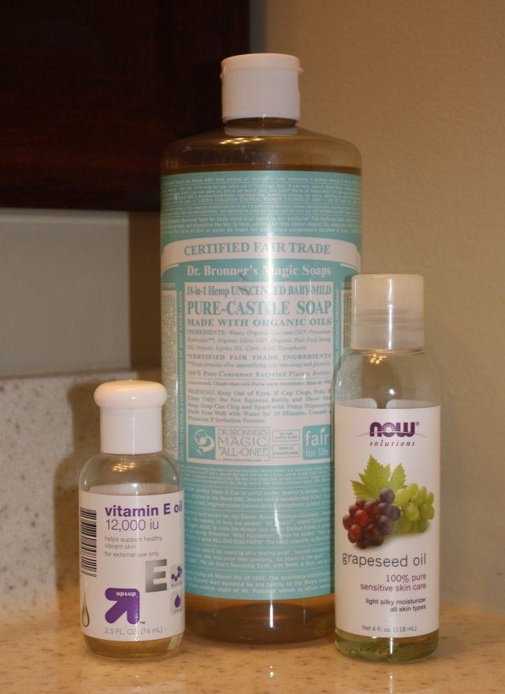 Homemade facial soap