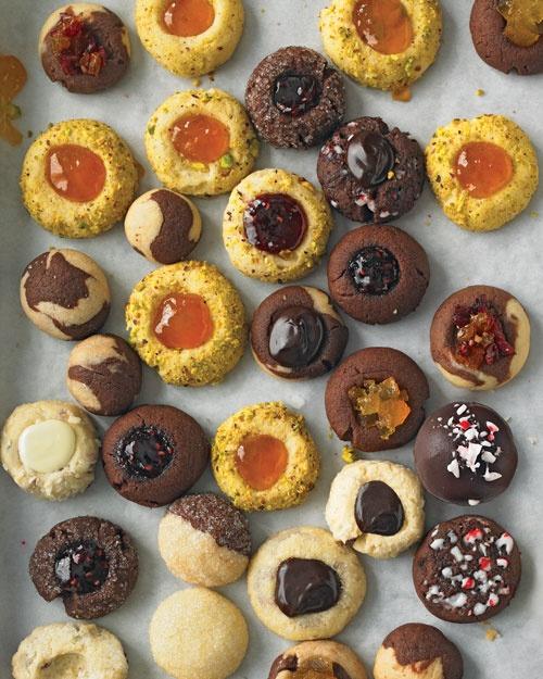 Thumbprints and Ball Cookies   Recipe