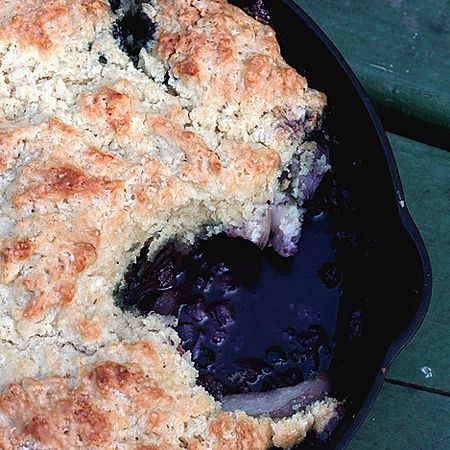 Campfire cobbler with summer berries | Gone camping 'n cooking! | Pin ...