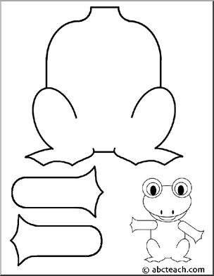 frog puppet for leap year | classroom ideas | Pinterest