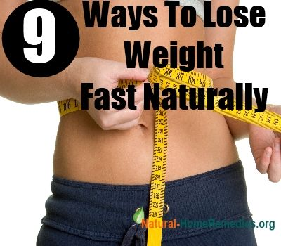 9 ways to lose weight fast overnight