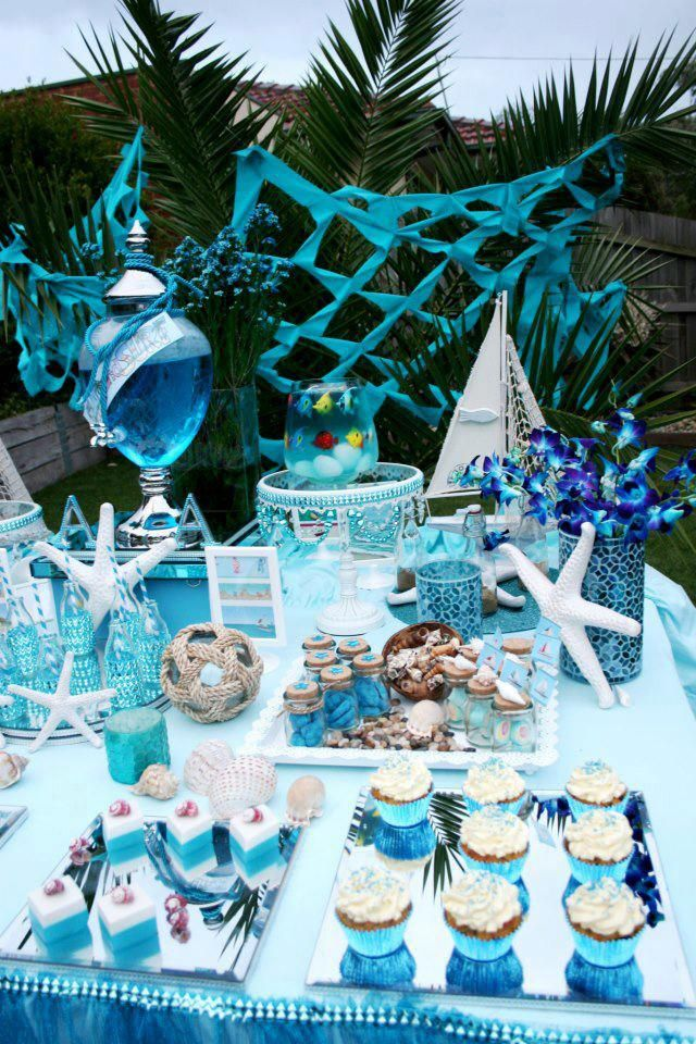 Under sea party decorations birthday