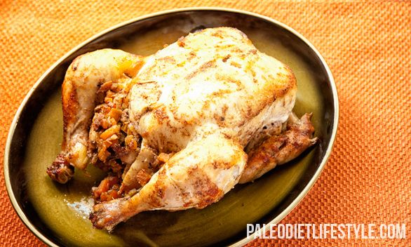 Moroccan-Style Roast Chicken This was my first roast chicken ever and ...