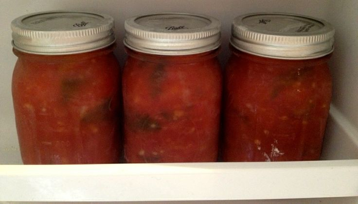 How to make freezer tomato sauce | Canning | Pinterest