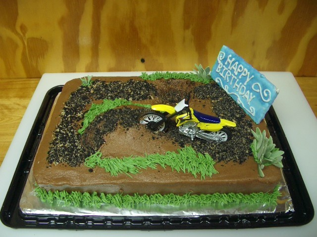 Dirt Track Cake Baking Pinterest