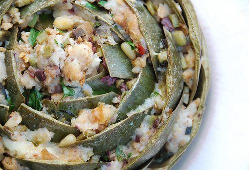 Italian Stuffed Globe Artichokes | Mmm Mmm Good | Pinterest