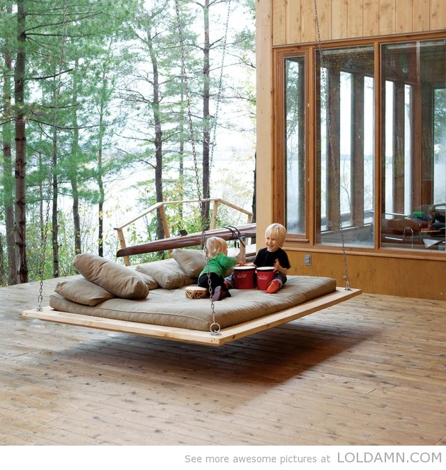 Awesome Hanging Bed