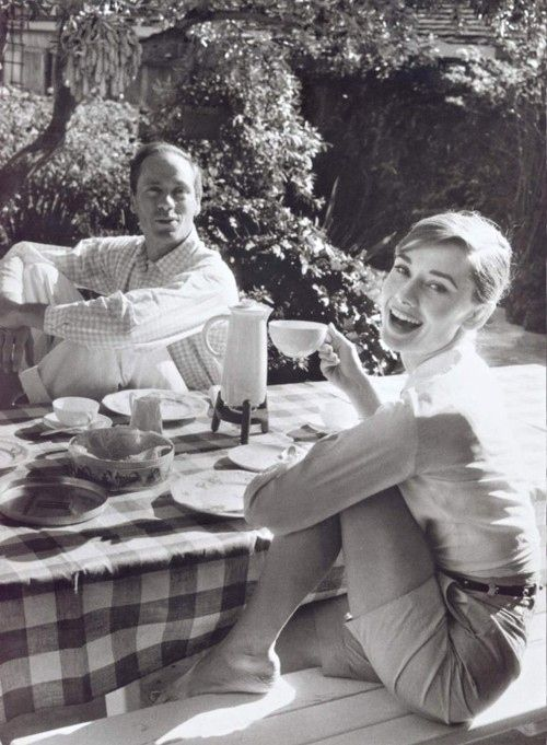 Coffee with Audrey + Mel