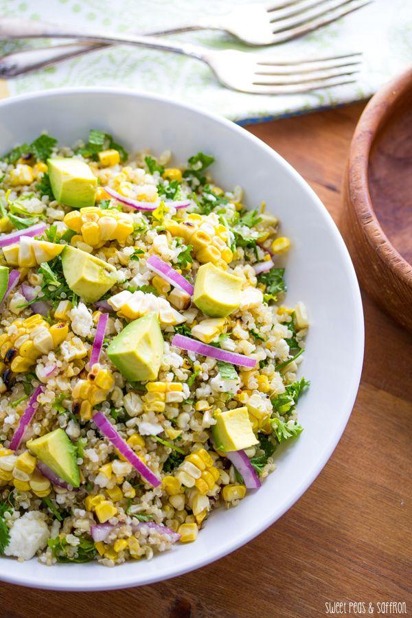 quinoa salad recipe with lime fresh mint recipes dishmaps quinoa salad ...