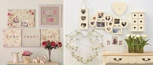 Love all the bits in the right hand picture - especially the keepsake box and the collage frame!