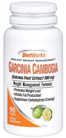 DietWorks Garcinia Cambogia Tablets 90 ea  Pharmapacks